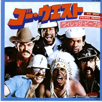 VILLAGE PEOPLE go west