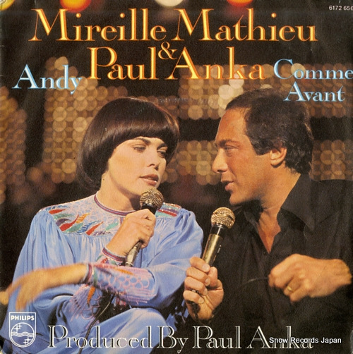MATHIEU, MIREILLE & PAUL ANKA andy