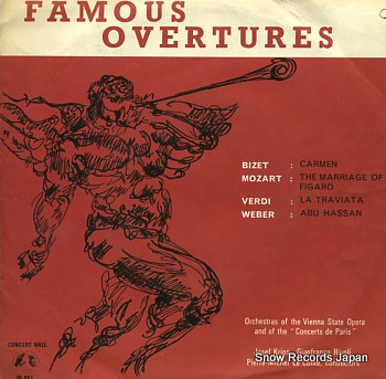 V/A famous overtures