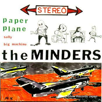 MINDERS, THE paper plane