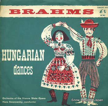 SWAROWSKY, HANS hungarian dances