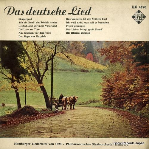 SOTERAU, LEITER das deutsche lied