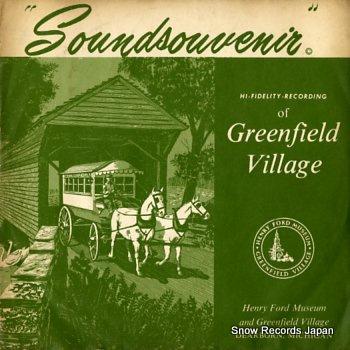 MICHAEL, JAY soundsouvebir of greenfield village