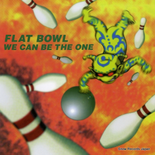 FLAT BOWL we can be the one KEP005 - front cover