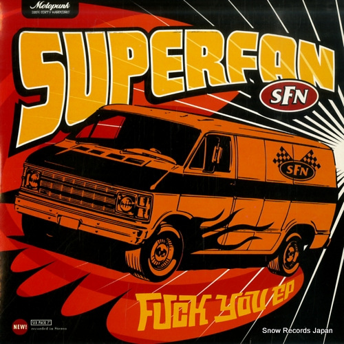 SUPERFAN fuck you ep KILL004 - front cover