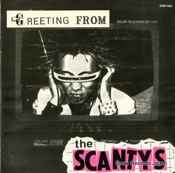 SCANTYS, THE greeting from
