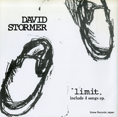 DAVID STORMER limit CC-001 - front cover