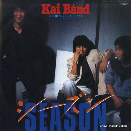 KAI BAND season ETP-17495 - front cover