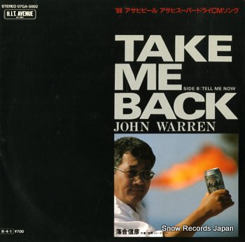 WARREN, JOHN take me back