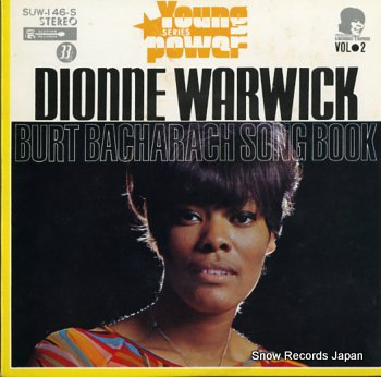 WARWICK, DIONNE burt bacharach song book