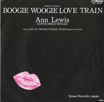 LEWIS, ANN boogie woogie love train