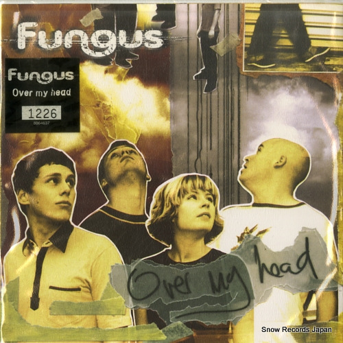FUNGUS over my head CEE003 - front cover