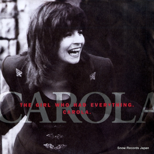 CAROLA the girl who had everything 113705 - front cover