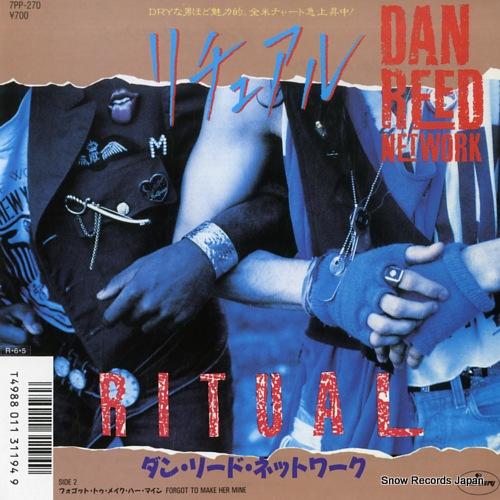 DAN REED NETWORK ritual 7PP-270 - front cover