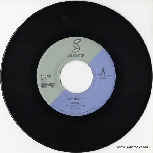 FUJII, NAOYUKI naturally 7A0787 - disc
