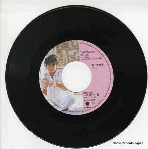 HONDA, MINAKO temptation WTP-17774 - disc