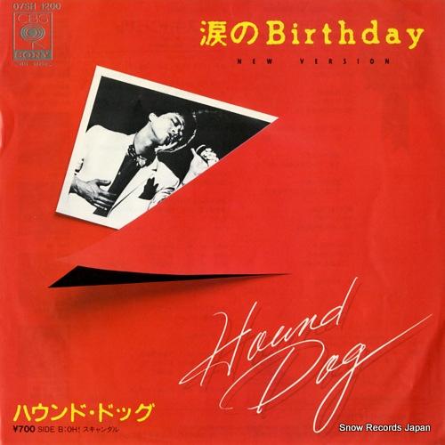 HOUND DOG namida no birthday 07SH1200 - front cover