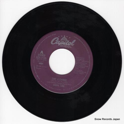 LADD, CHERYL take a chance ECS-17155 - disc