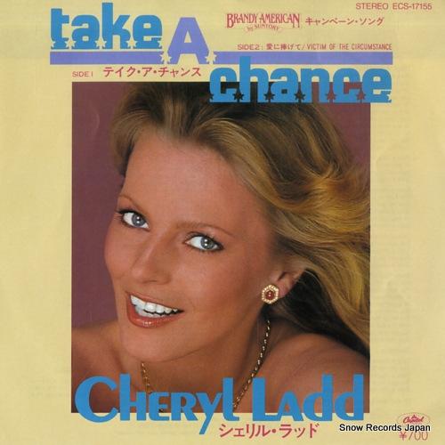 LADD, CHERYL take a chance ECS-17155 - front cover