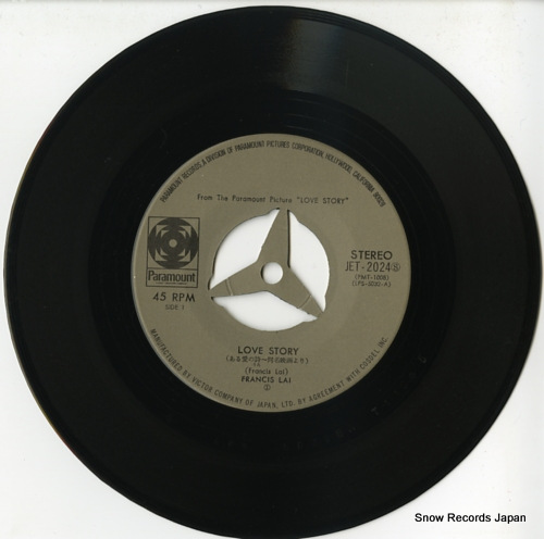 LAI, FRANCIS love story JET-2024 - disc