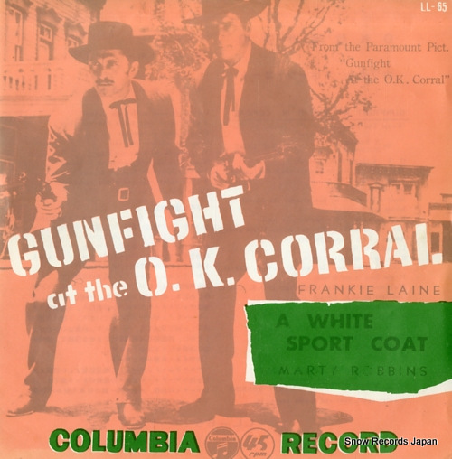 LAINE, FRANKIE, WITH JIMMY CARROLL gunfight at the o.k. corral LL-65 - front cover