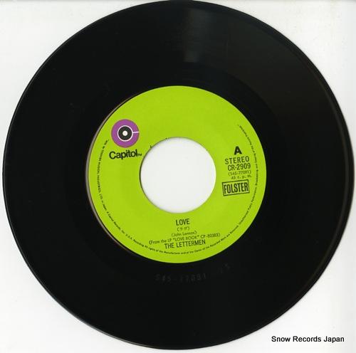 LETTERMEN, THE love CR-2909 - disc