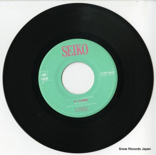 MATSUDA, SEIKO boy no kisetsu 07SH1640 - disc