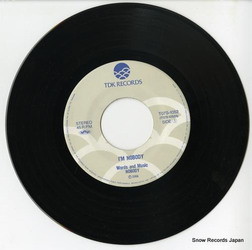 NOBODY i'm nobody T07S-1052 - disc