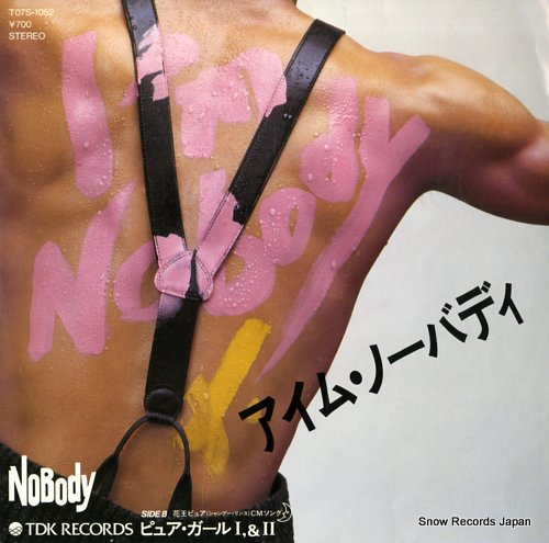 NOBODY i'm nobody T07S-1052 - front cover