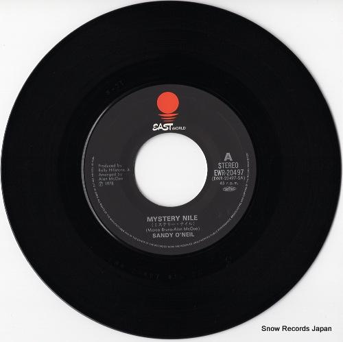 O'NEIL, SANDY mystery nile EWR-20497 - disc