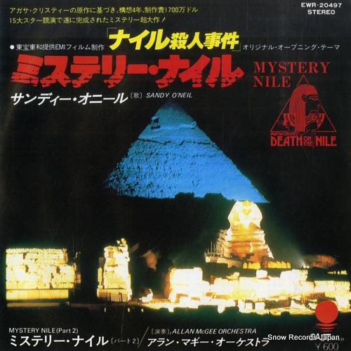 O'NEIL, SANDY mystery nile EWR-20497 - front cover