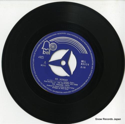 ORIGINAL CASTE, THE mr. monday BELL-88024 - disc