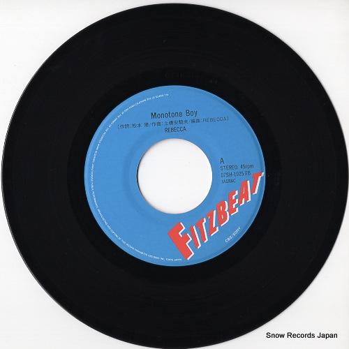 REBECCA monotone boy 07SH1925 - disc