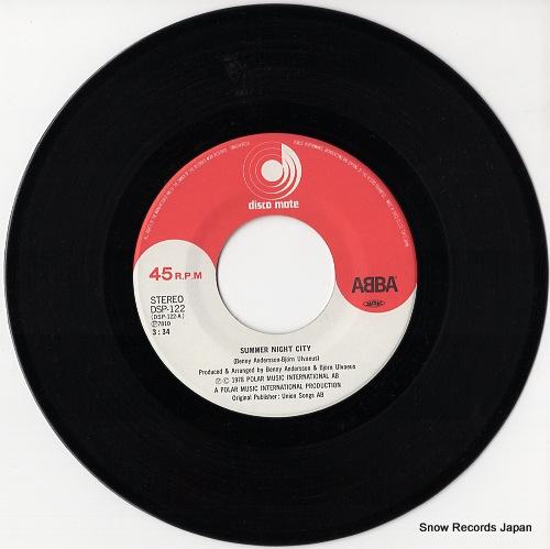ABBA summer night city DSP-122 - disc