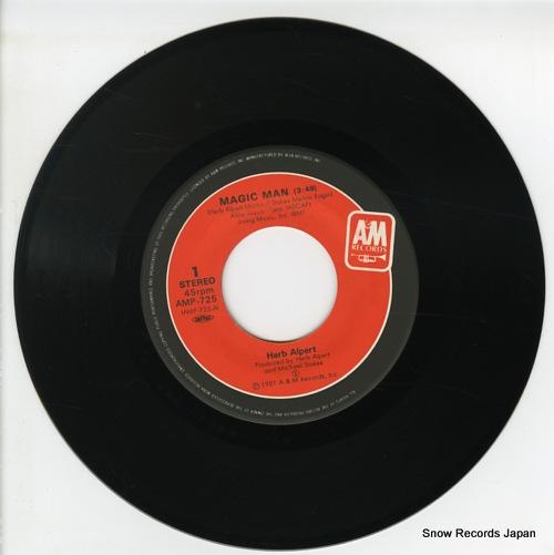 ALPERT, HERB magic man AMP-725 - disc