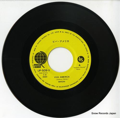 BANZAII viva america UP-509-V - disc