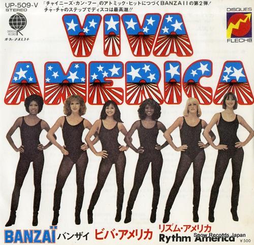 BANZAII viva america UP-509-V - front cover