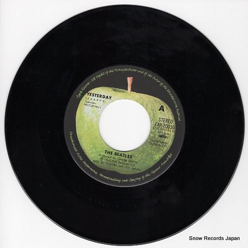 BEATLES, THE yesterday EAR-20030 - disc