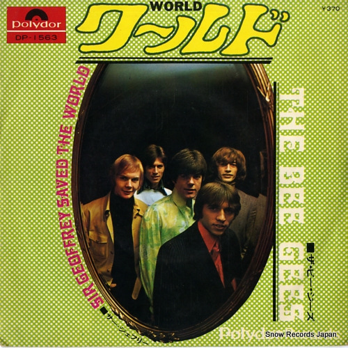 BEE GEES, THE world DP-1563 - front cover