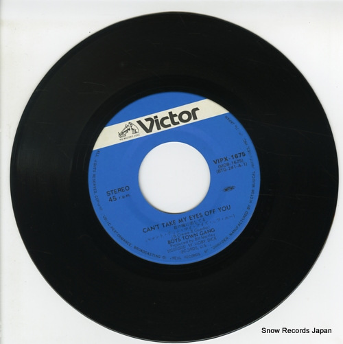 BOYS TOWN GANG can't take my eyes off you VIPX-1675 - disc
