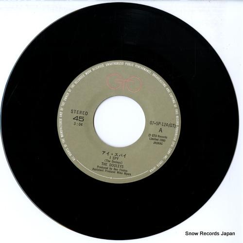 DOOLEYS, THE i spy 07.5P-124 - disc