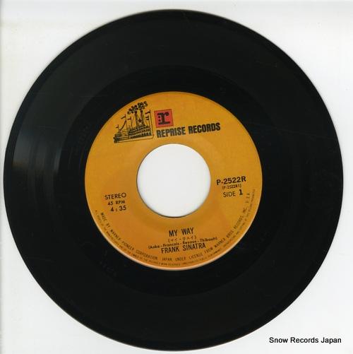 SINATRA, FRANK my way P-2522R - disc
