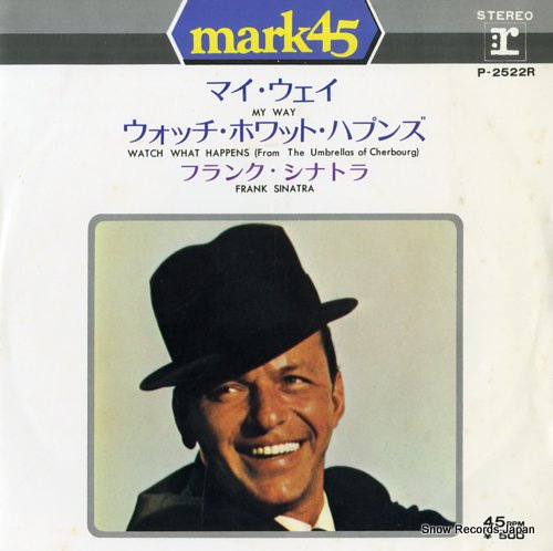 SINATRA, FRANK my way P-2522R - front cover