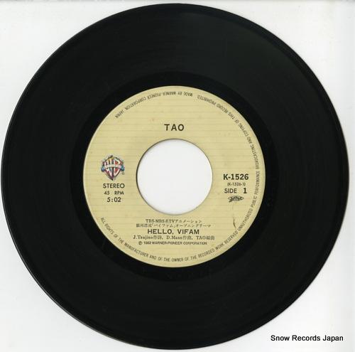 TAO hello vifam K-1526 - disc