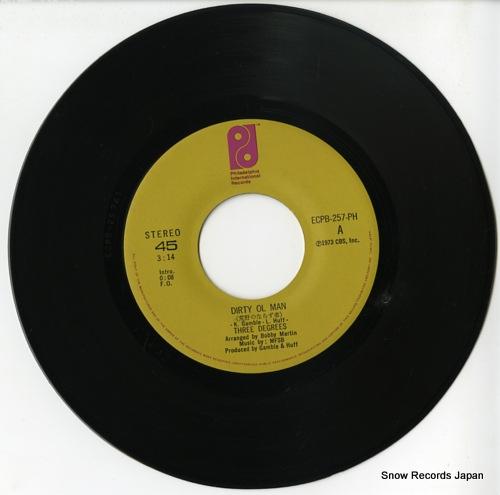 THREE DEGREES, THE dirty ol man ECPB-257-PH - disc