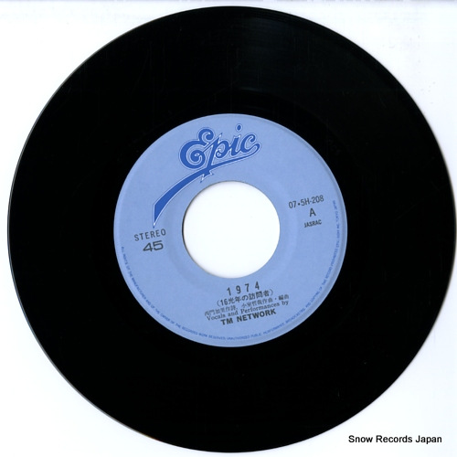 TM NETWORK 1974 07.5H-208 - disc