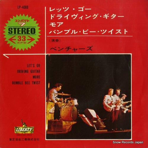 ザ・ベンチャーズ レッツ・ゴー LP-4088