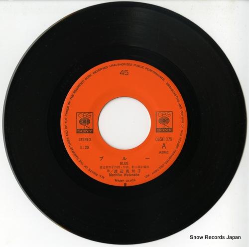 WATANABE, MACHIKO blue 06SH379 - disc