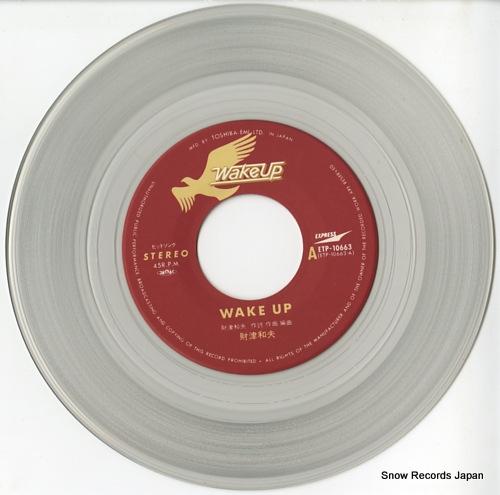 ZAITSU, KAZUO wake up ETP-10663 - disc