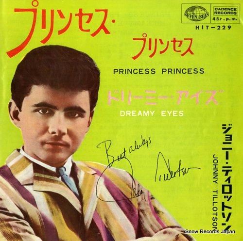 TILLOTSON, JOHNNY princess princess HIT-229 - front cover